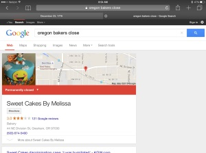 Identity politics drove Sweet Cakes by Melissa out of business.